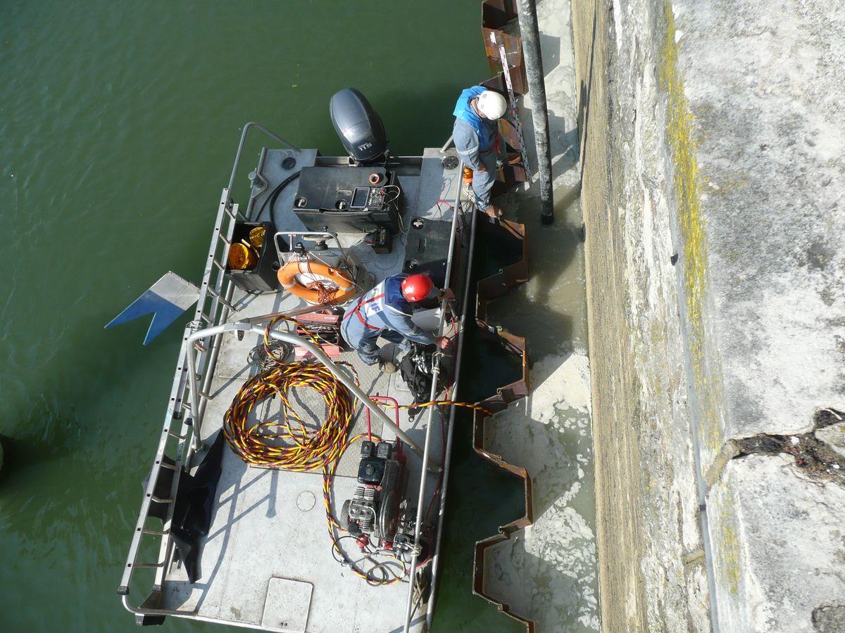 Travaux subaquatiques - Prises d'eau et émissaires de rejet