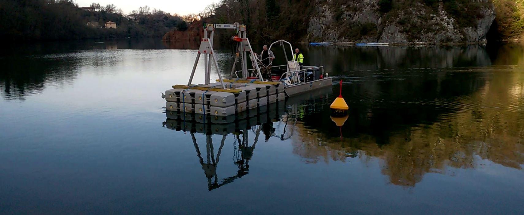 Travaux subaquatiques - Travaux portuaires et balisage fluviaux