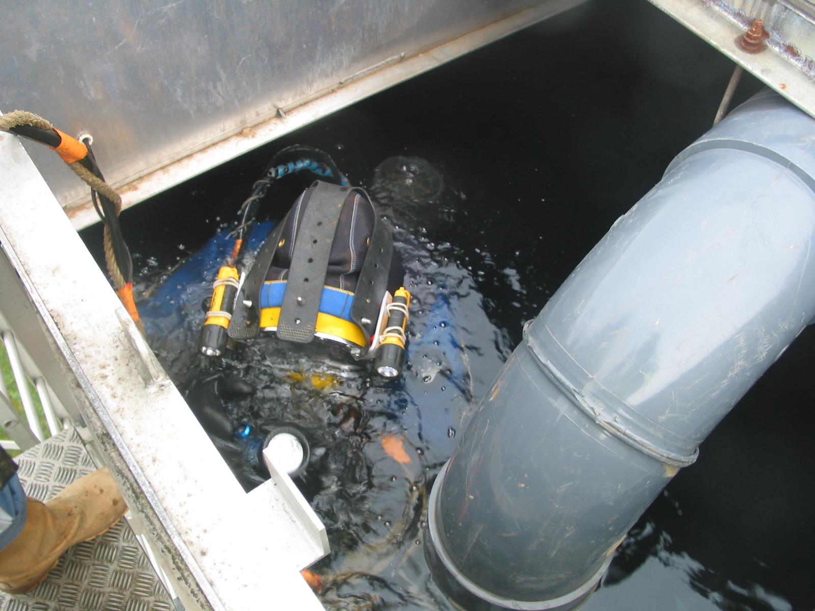 Travaux subaquatiques - Réseaux incendies