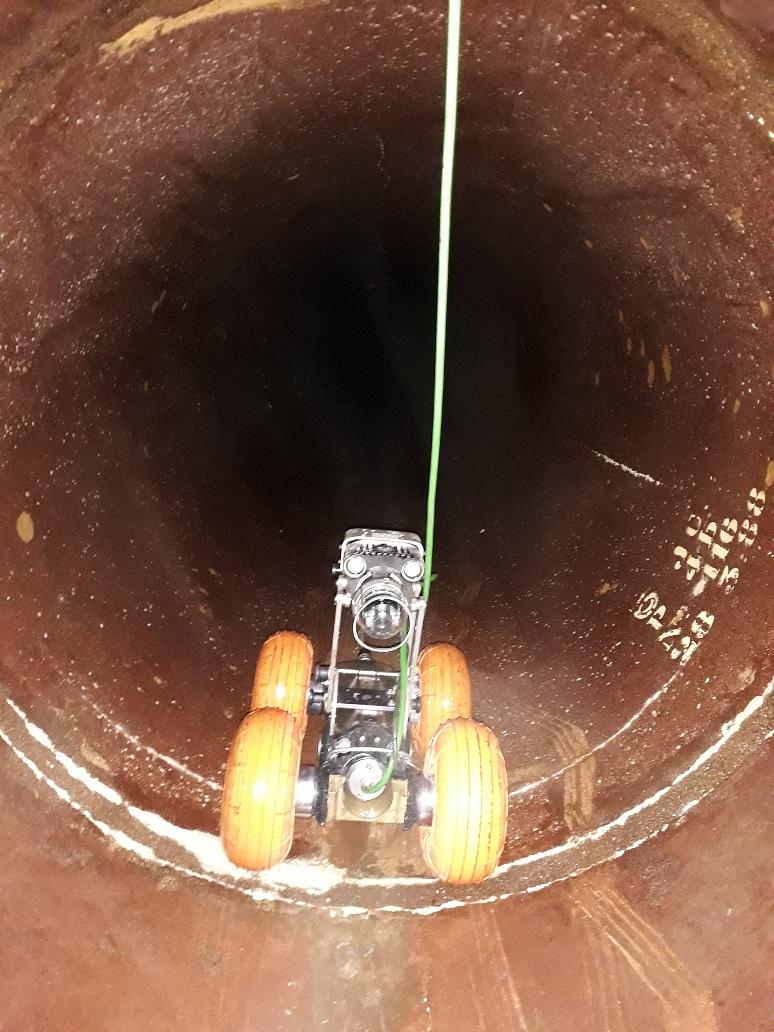 Ouvrages de captage d'eau - Diagnostic vidéo
