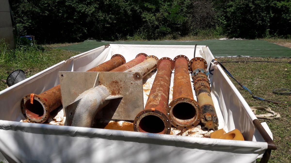 Ouvrages de captage d'eau - Rechemisage