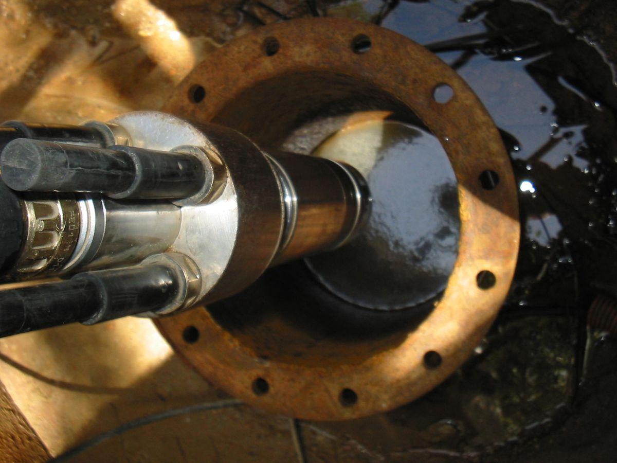 Ouvrages de captage d'eau - Internage