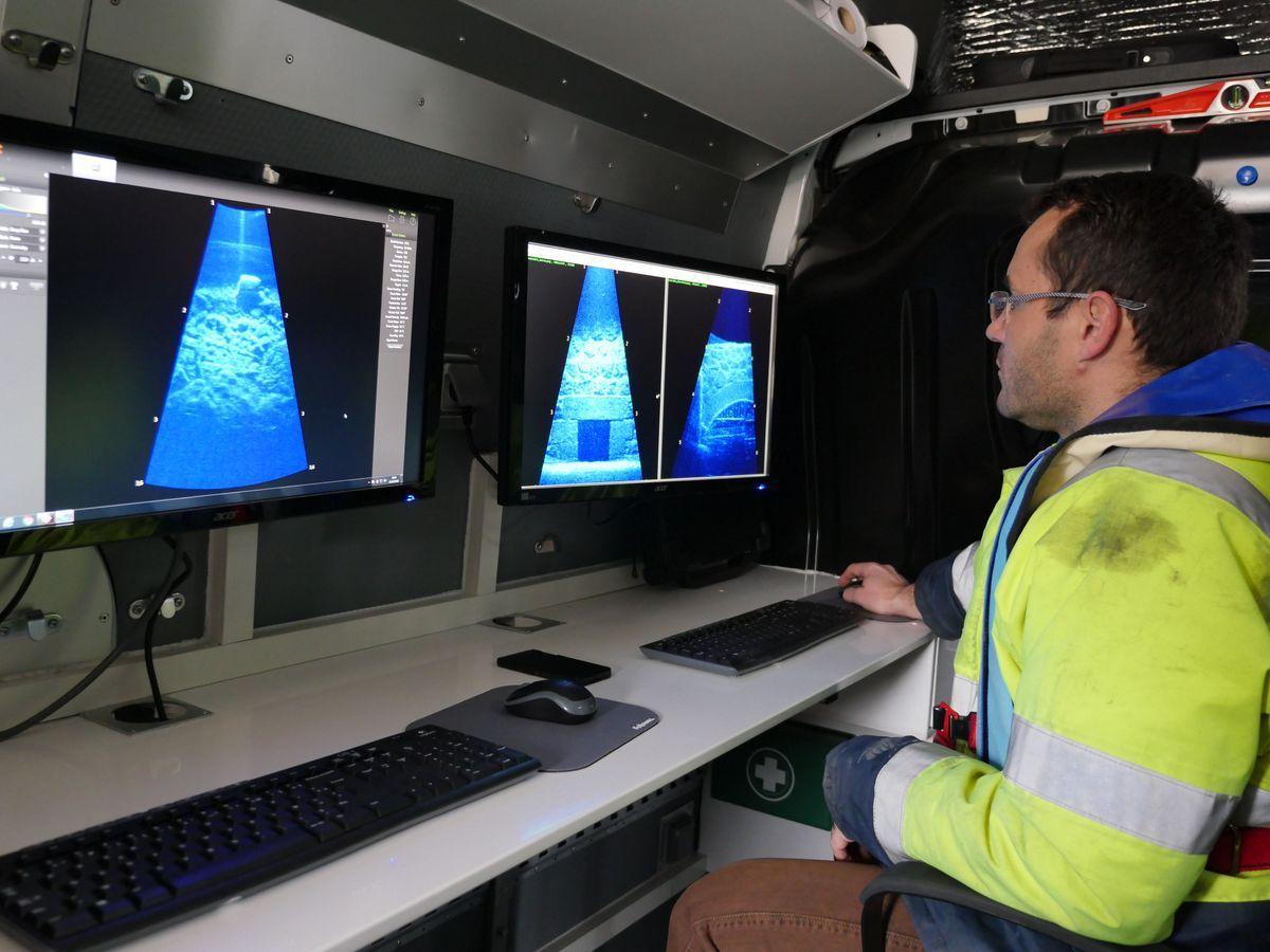 Inspections Téléopérées - Inspections par sonars d'imagerie
