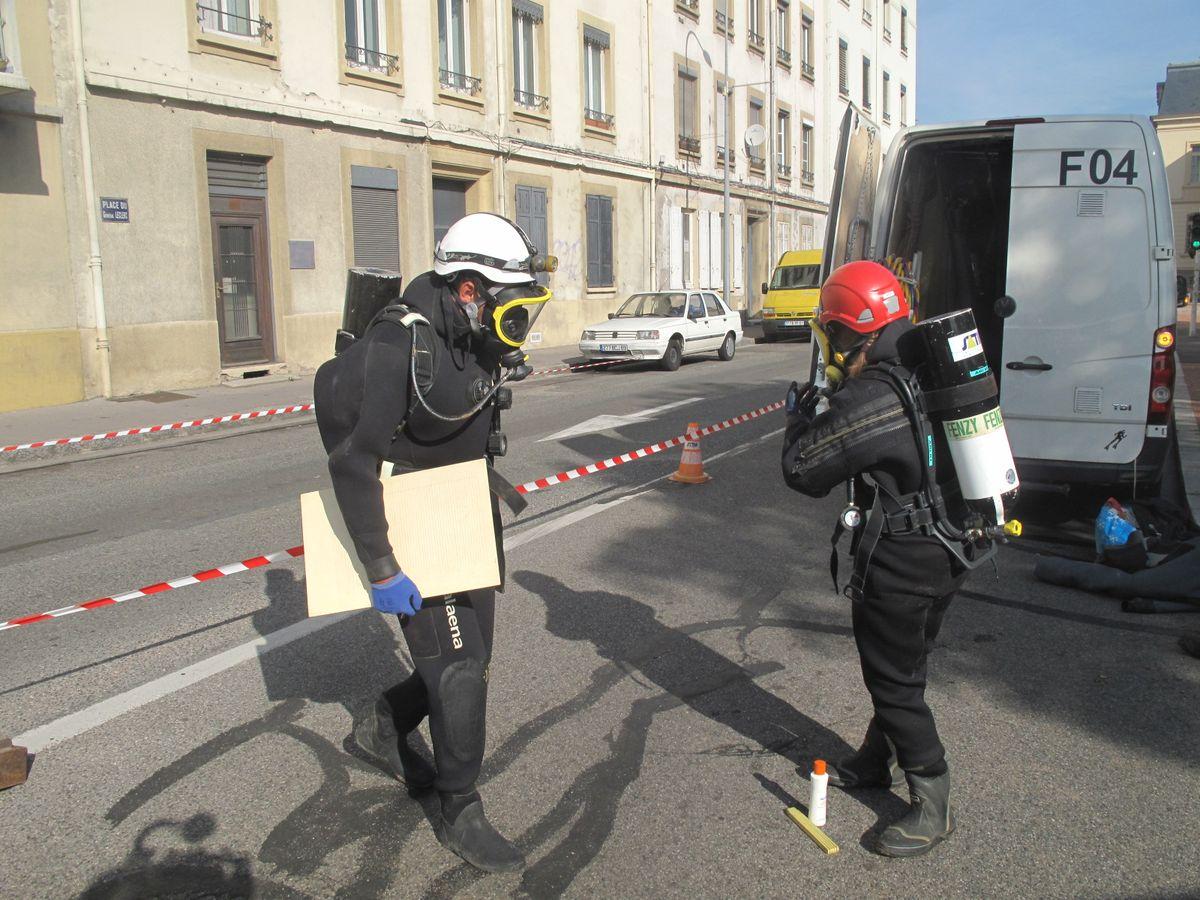 Inspections Scaphandriers - Expertises en milieu pollué ou confiné
