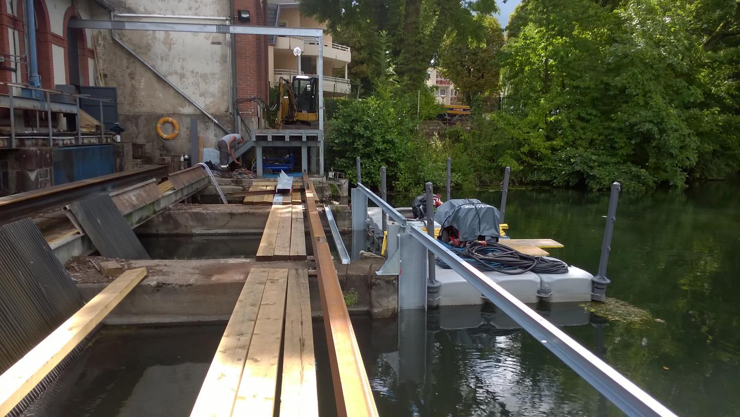 Travaux subaquatiques - Travaux sur ouvrages hydrauliques