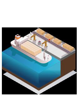 Ports maritimes et fluviaux