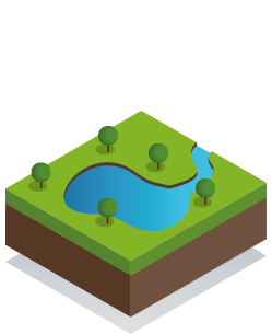 Lacs et Rivières