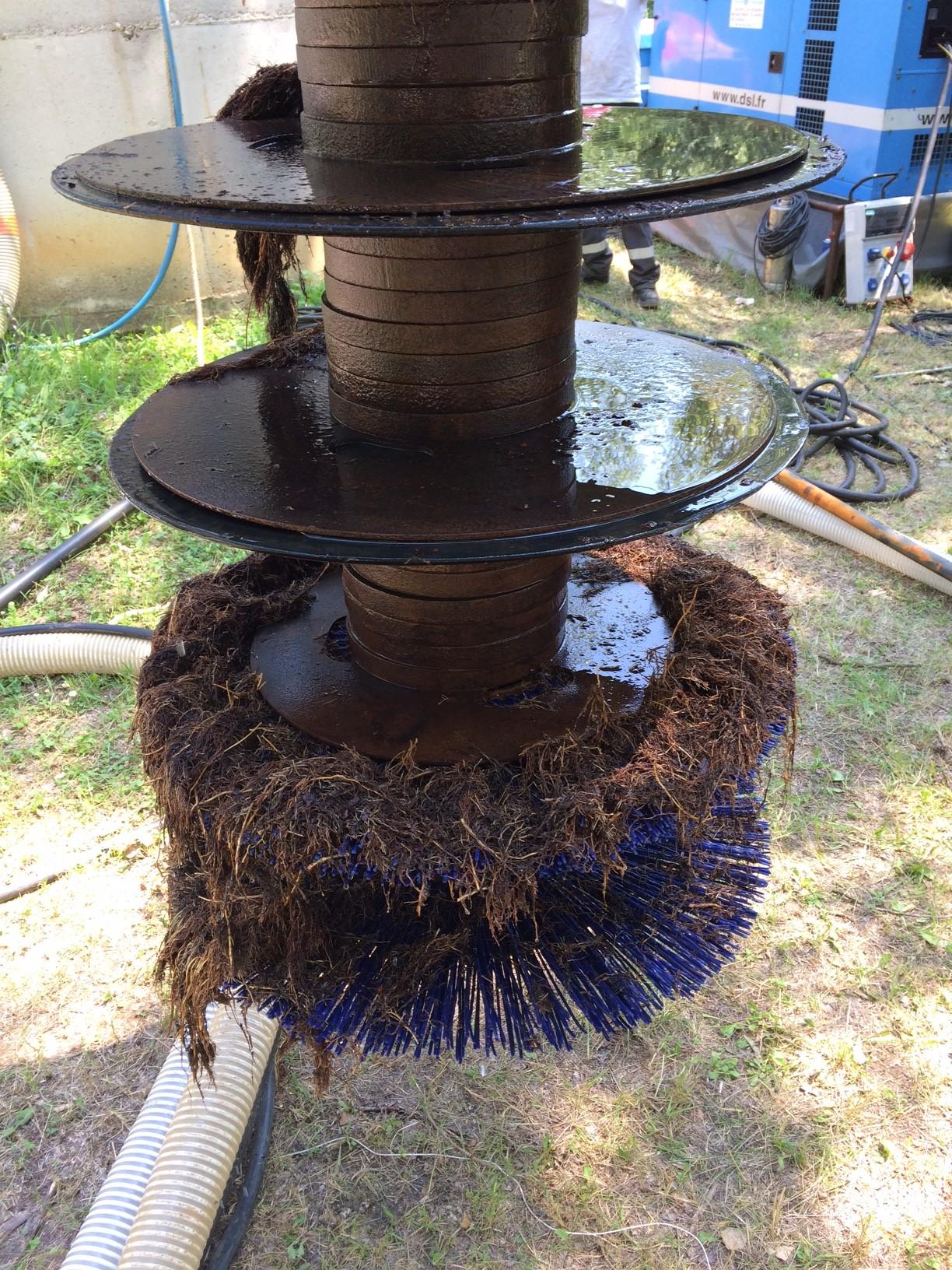 Ouvrages de captage d'eau - Régénération